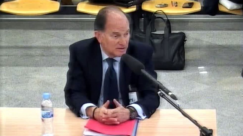 Sepúlveda niega haber recibido dinero de la trama Gürtel.Francisco Correa llegando hoy al juicio