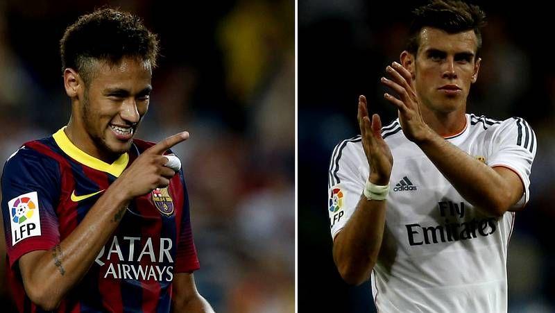 El Barça - Real Madrid, en fotos.Instante en el que Pablo Insua se anticipa a Ruymán para rematar de cabeza y marcar el gol de la victoria del Dépor en el Nuevo Colombino.