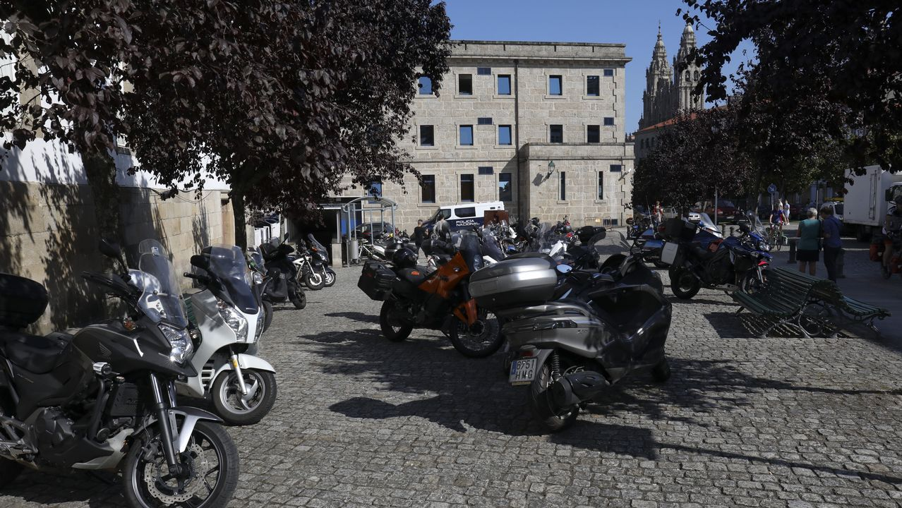 Aparcamiento exclusivo para motos.