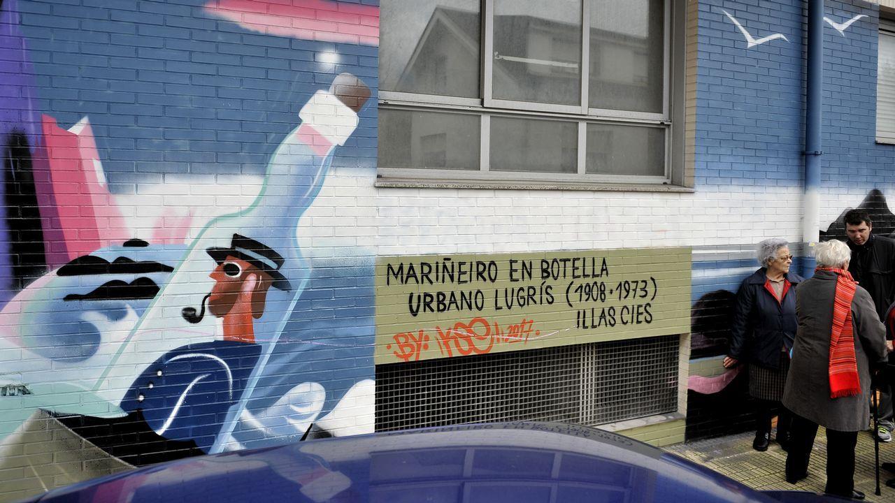 MURAL DE LUGRÍS EN CULLEREDO