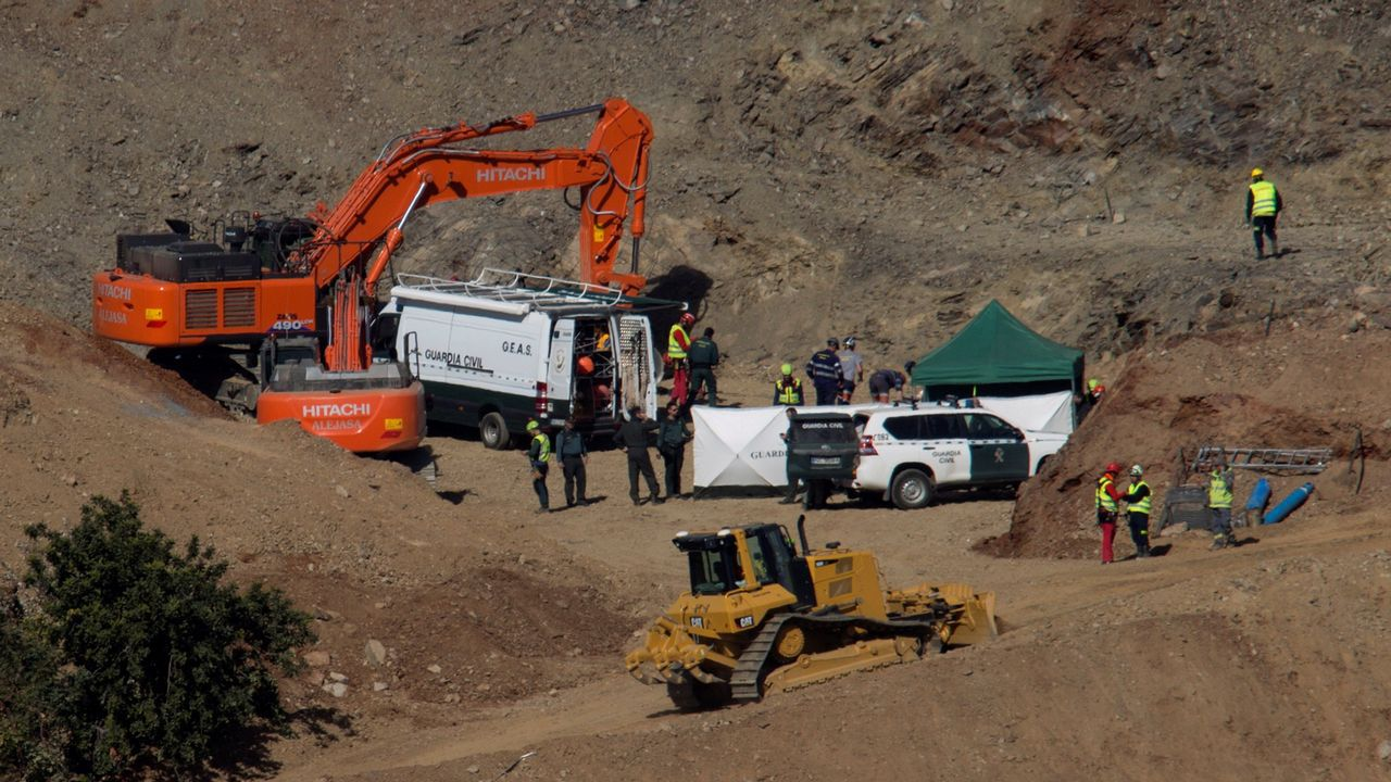 Los ocho mineros asturianos son la élite en rescates en profundidad.Anquela en las instalaciones Tensi
