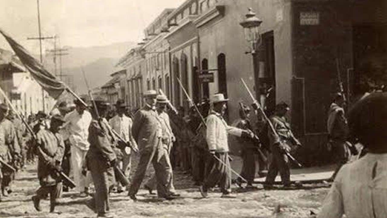 Ya a principios del siglo XX, concretamente el 8 de enero de 1900, el nuevo tirano de Venezuela, General Cipriano Castro manda que los banqueros detenidos sean llevados esposados por las calles de Caracas por negarse a conceder préstamos al Gobierno.