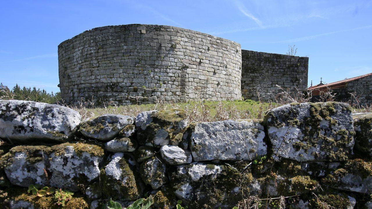 Imagen de la fortaleza BIC de Santo Estevo do Castro de Amarante