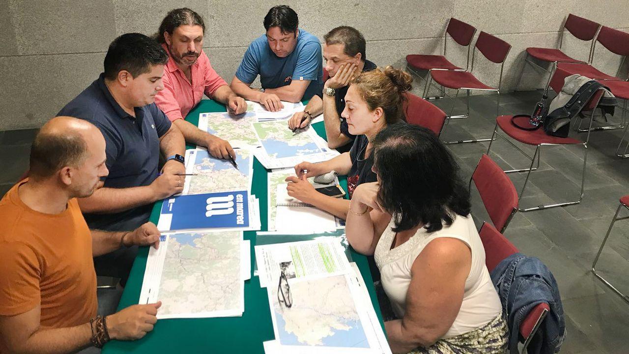 Pleno de aprobación del Plan Xeral de Vigo en el año 2007