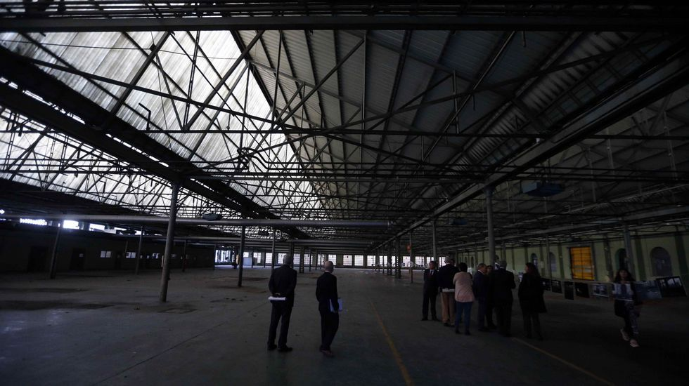 La Junta General acoge la capilla ardiente de Areces.Fábrica de Armas de La Vega