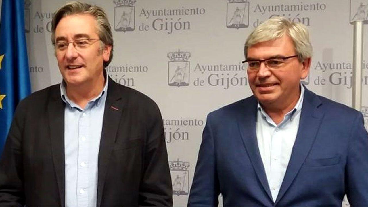 Pablo González y Mariano Marín