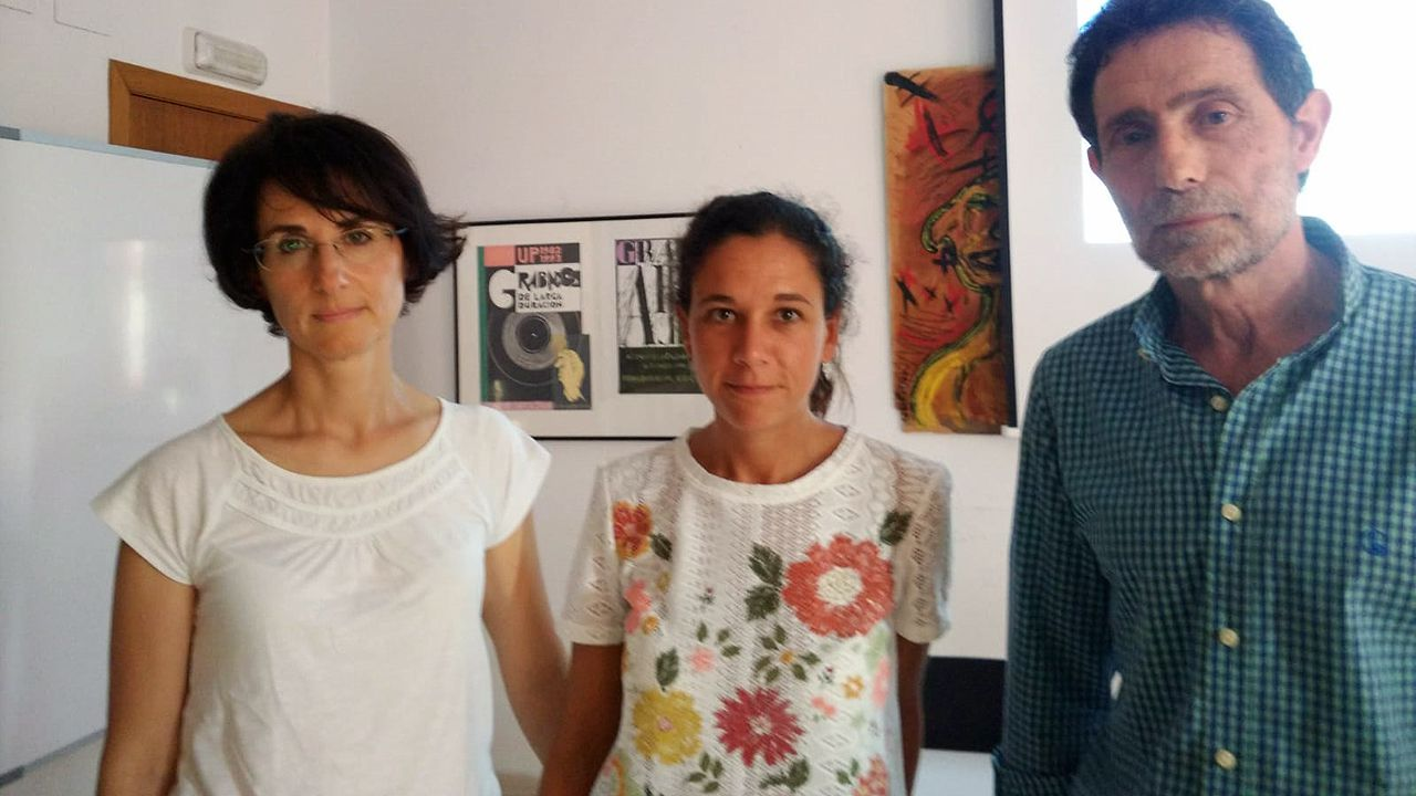 .Olga Alonso, Sara Díez y Valentín Rodríguez, el equipo de epidemiología de la dirección general de Salud Pública
