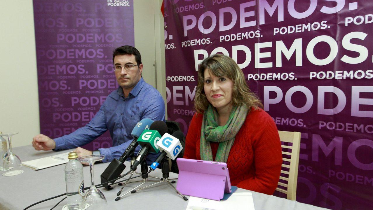 .Juan Merlo y Carmen Santos