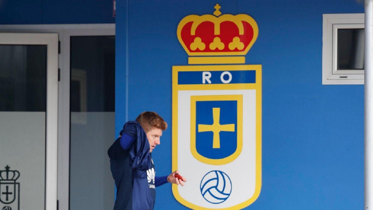 Mossa Requexon Real Oviedo.Mossa, en El Requexon