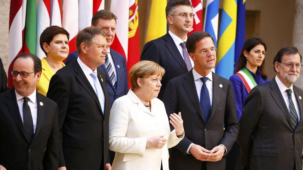 Los 27 conmemoran el Tratado de Roma.