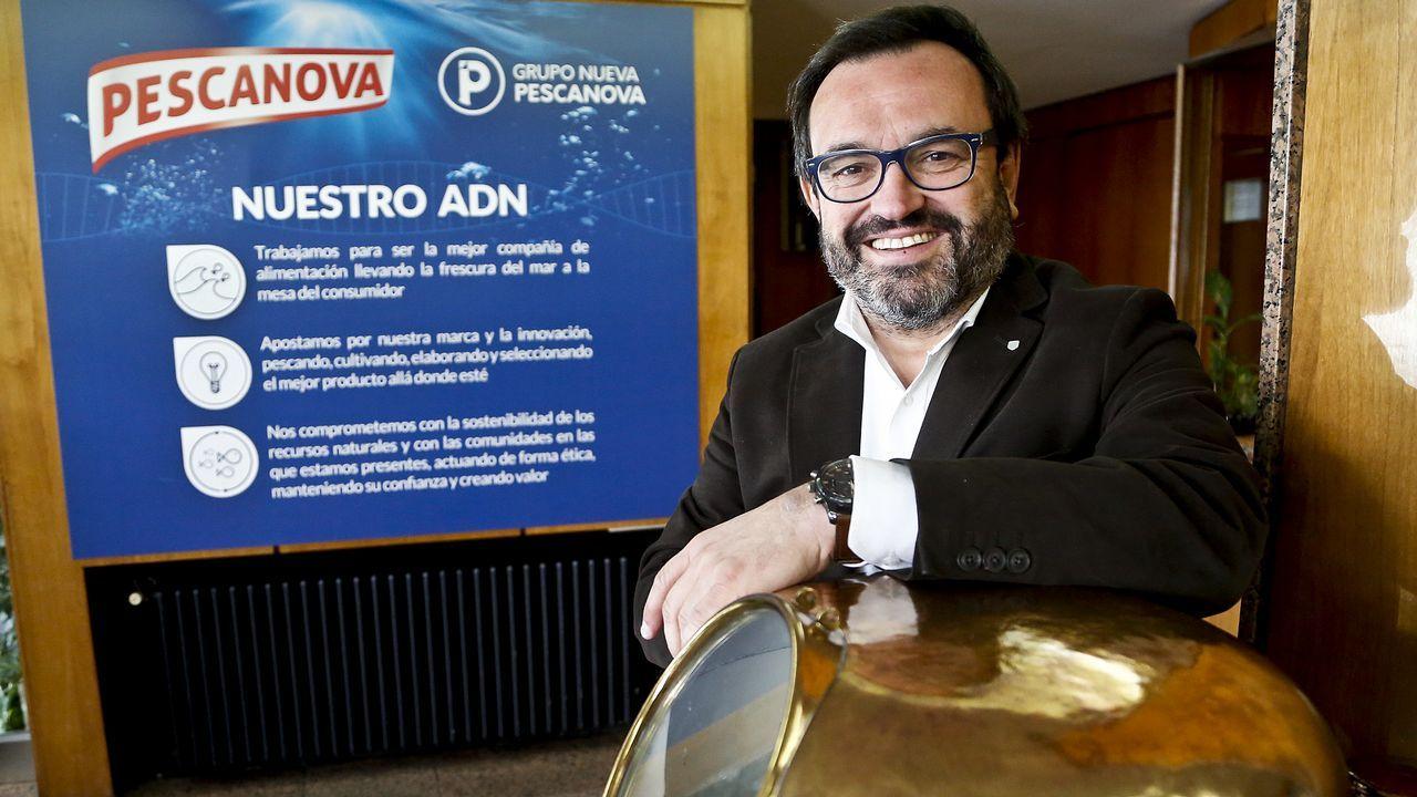Ignacio González: «Estamos haciendo lo que dijimos que íbamos a hacer».Ignacio González, consejero delegado de Nueva Pescanova