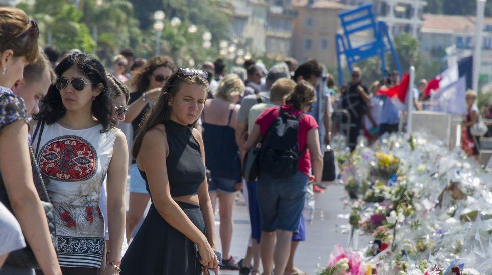 Muestras de apoyo a las víctimas de Múnich
