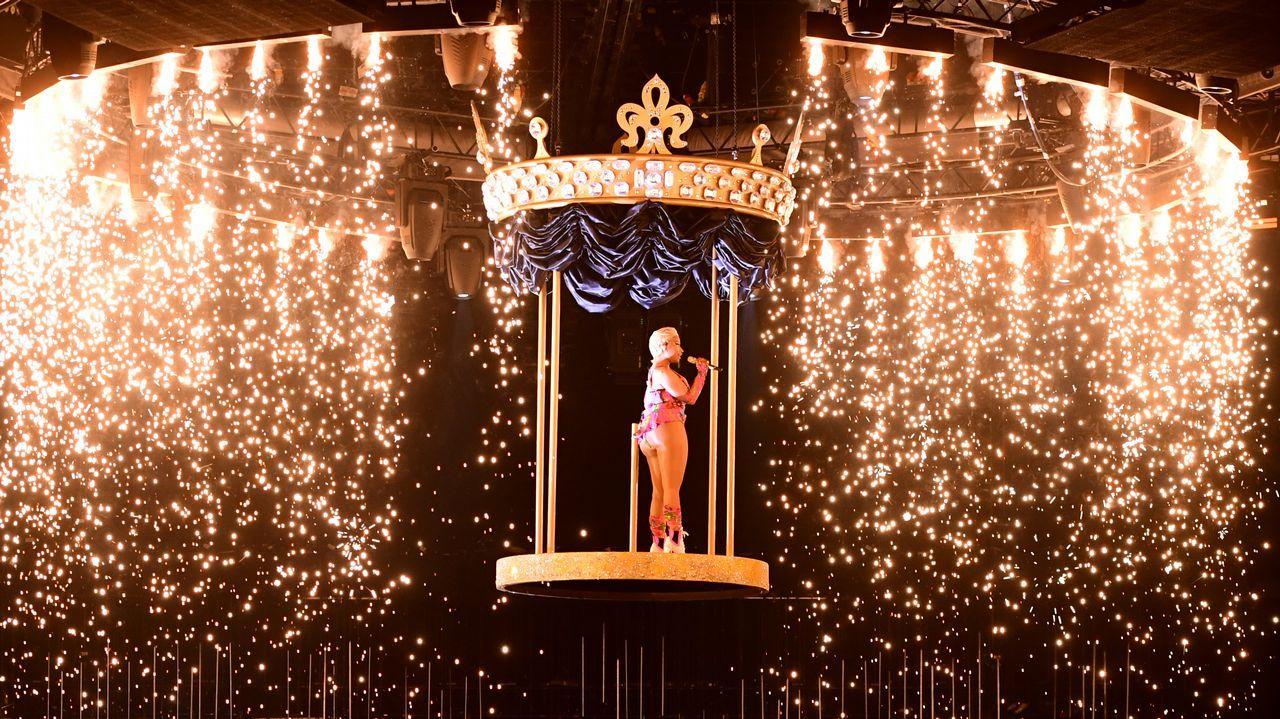 La espectacular puesta en escena de Nicki Minaj