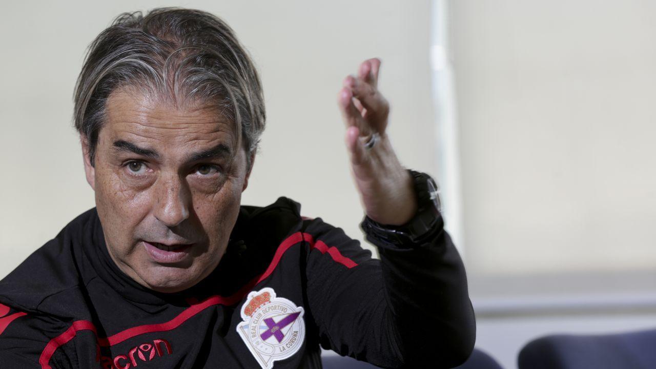 Natxo sobre Carles Gil: «Si se va, que se vaya».ÁLVARO CABRERA | EFE