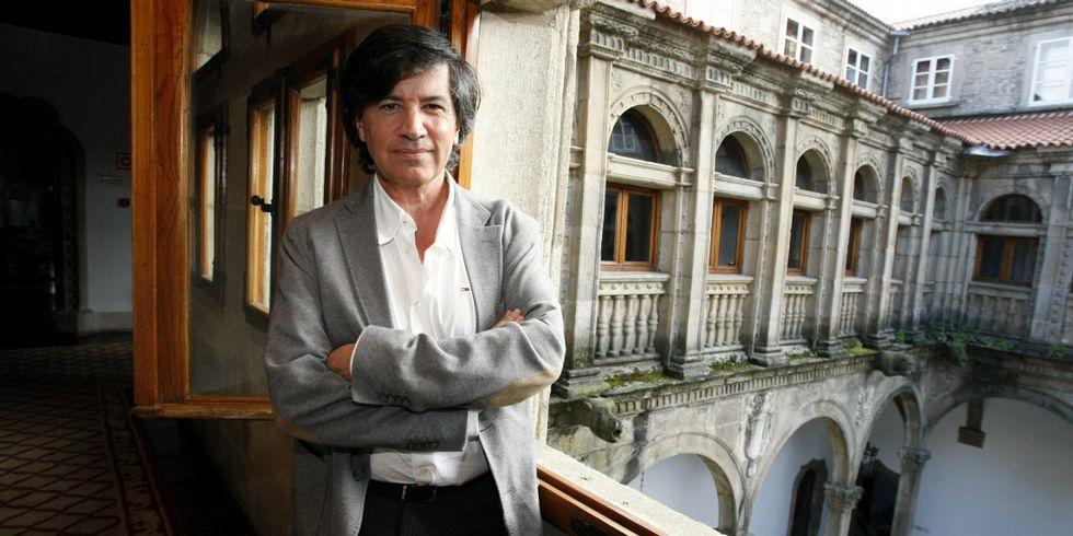 Carlos López Otín, en Compostela