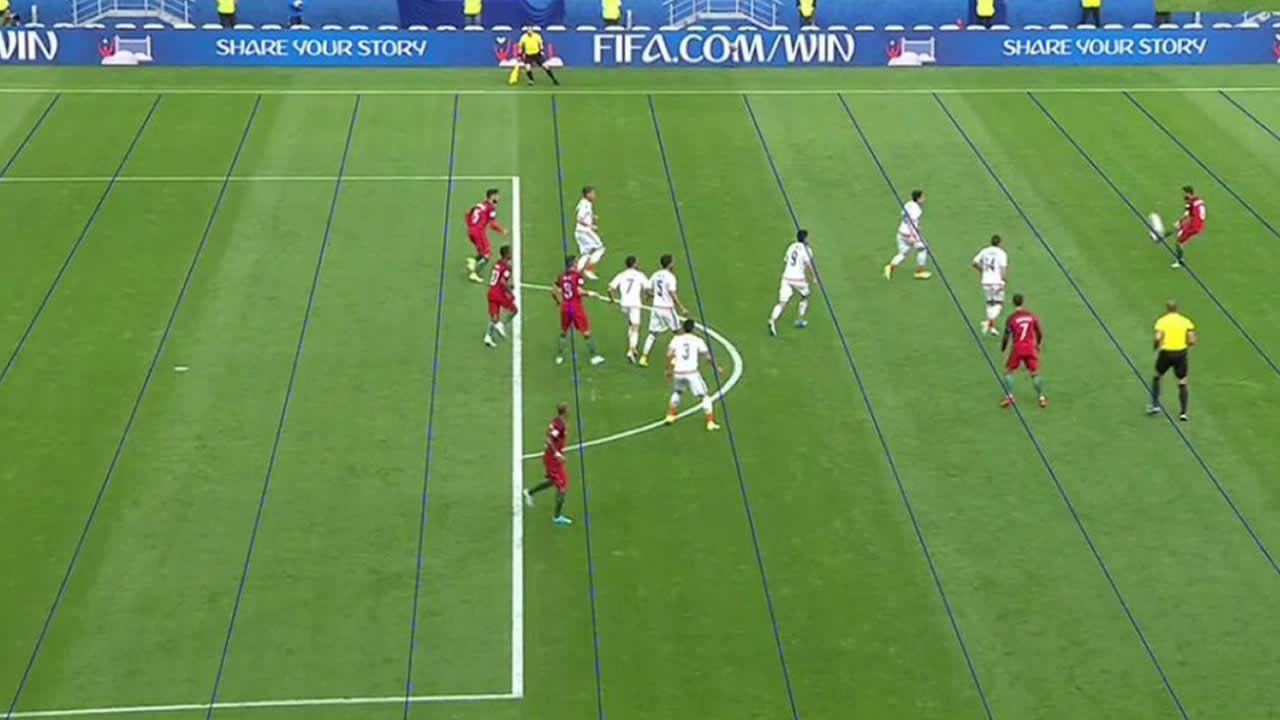 Resumen Portugal 2- 2 México.