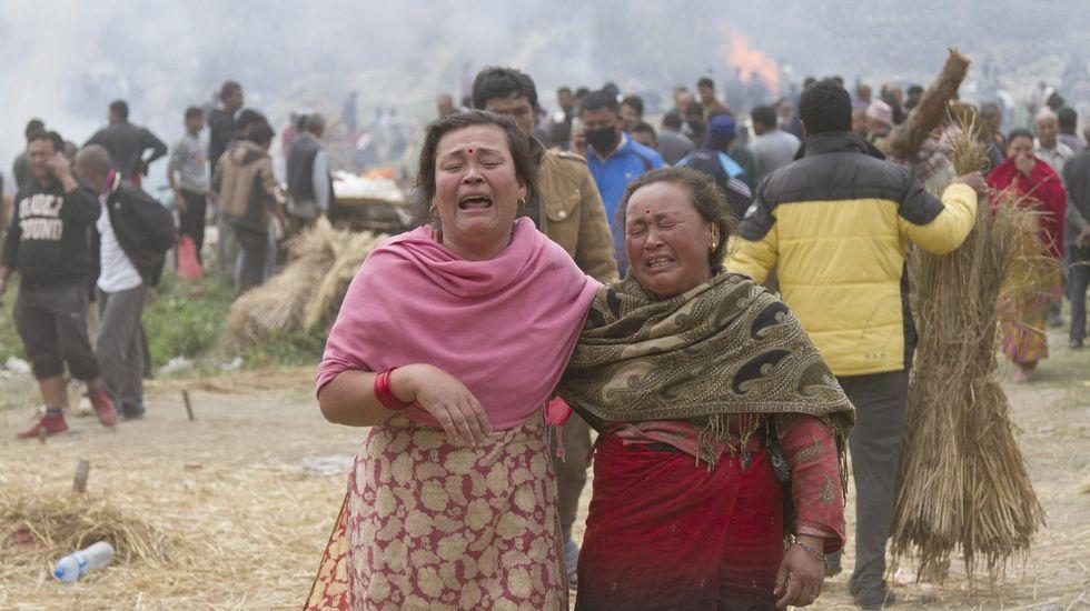 El terremoto también ha llegado al Tibet, donde ha provocado derrumbes y víctimas.