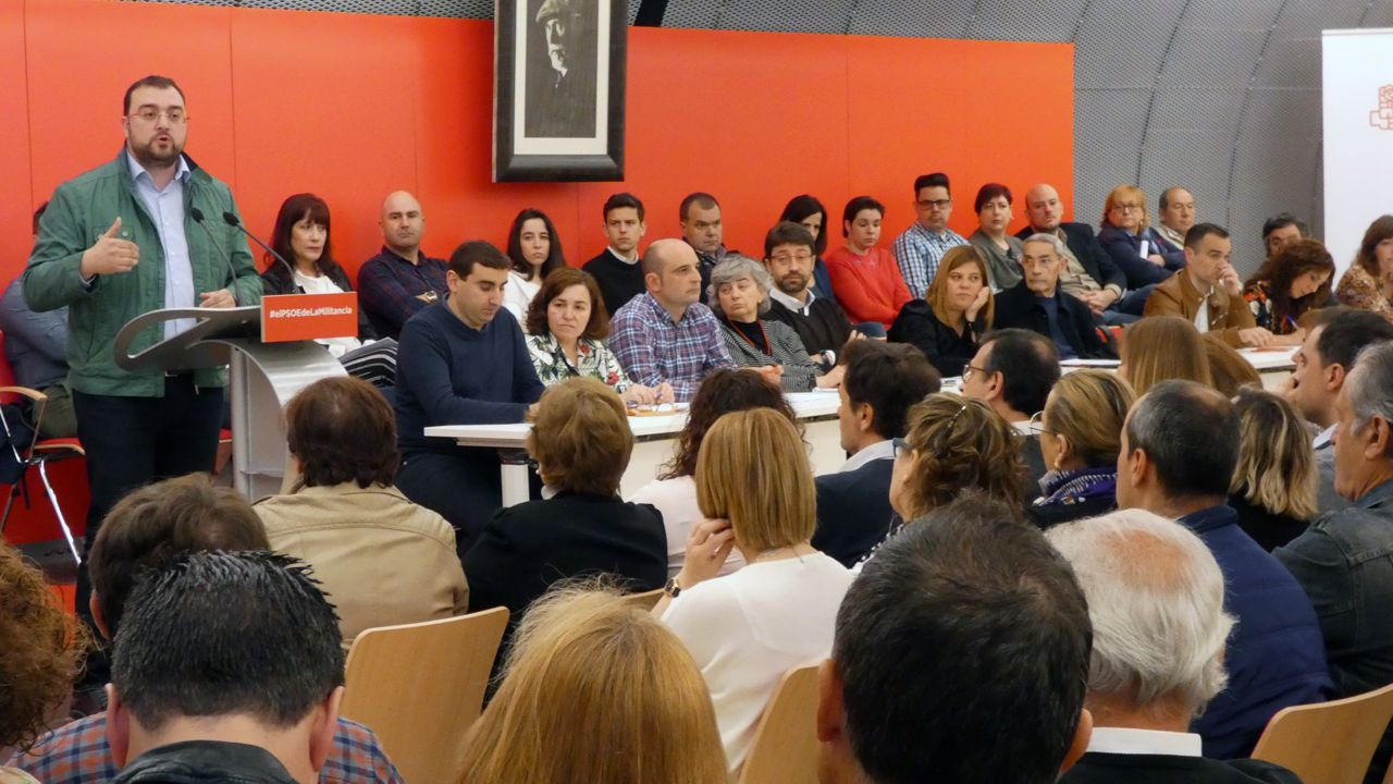 Adrián Barbón interviene ante el Comité Autonómico de la FSA-PSOE