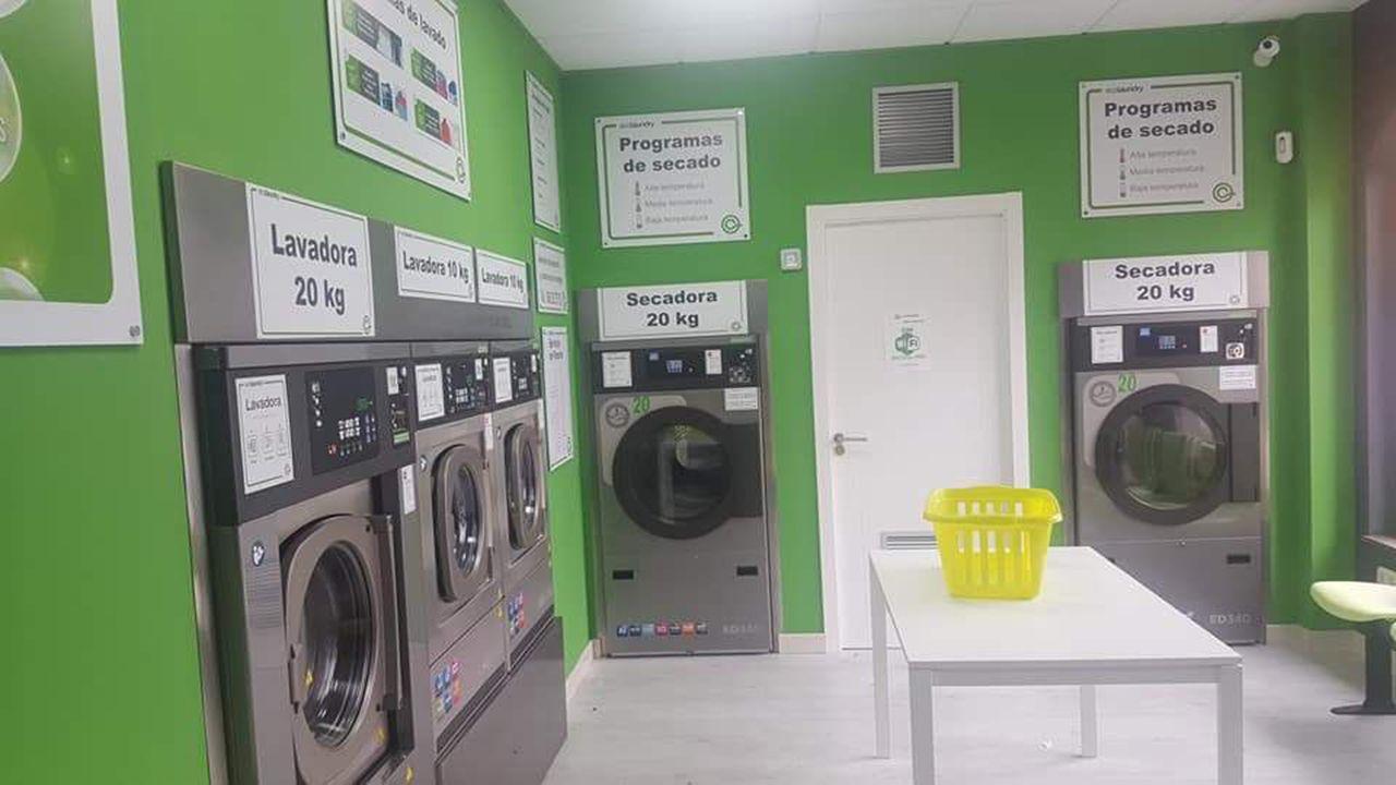 Lavanderías de autoservicio en Siero