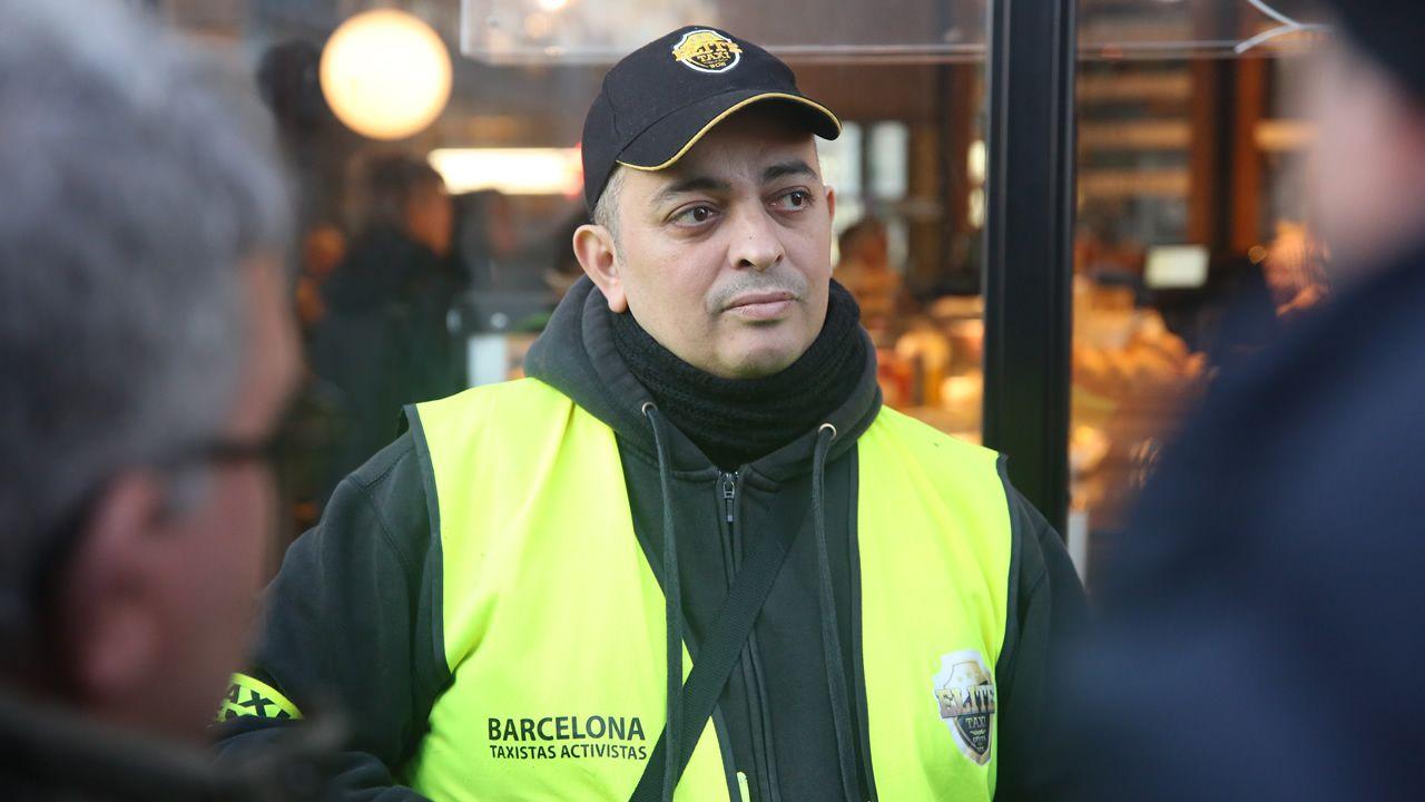 Portavoz de Élite Taxi: «Marlaska, un ministro de izquierdas y gay»