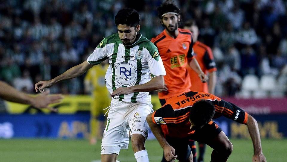 .José Carlos, en su debut con el Córdoba
