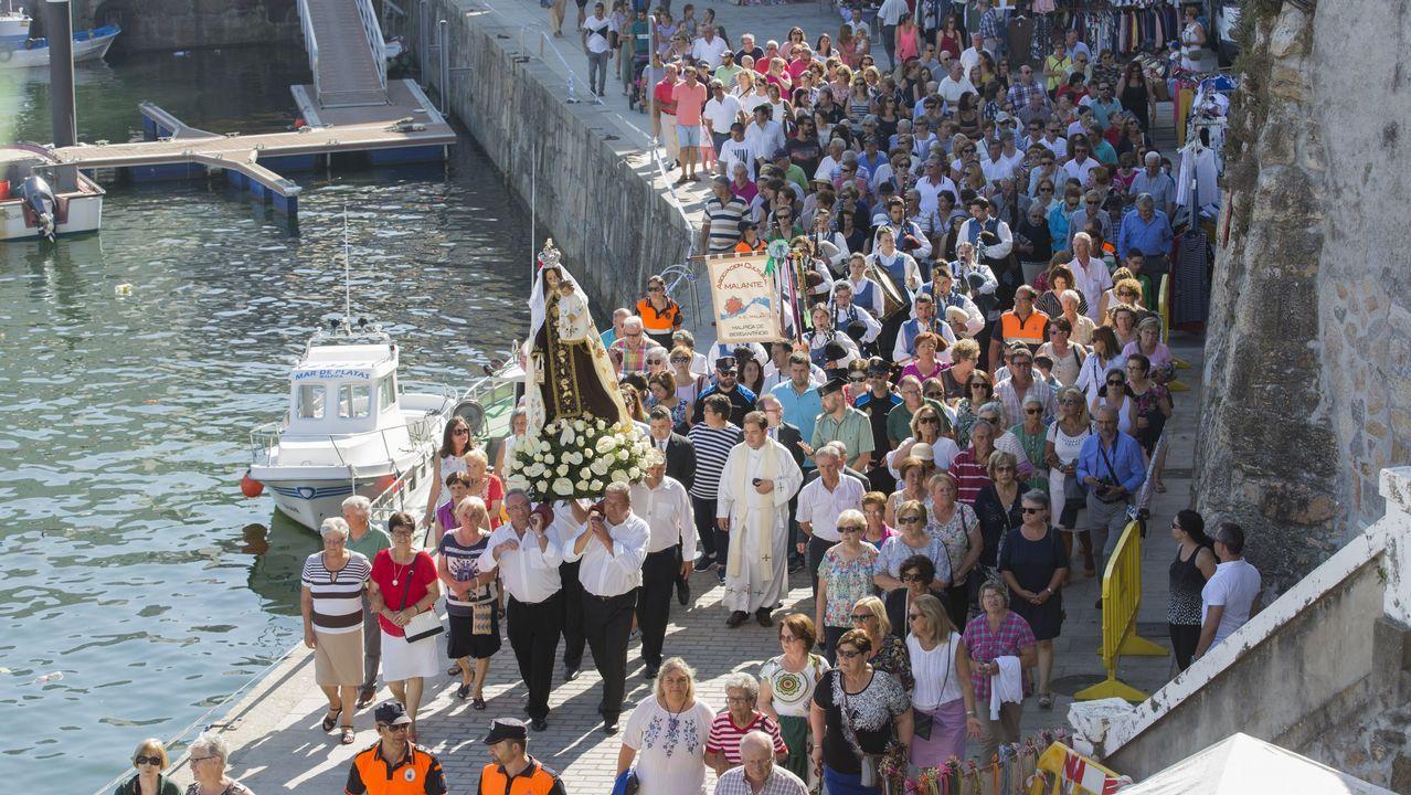 ¡Así fue la procesión marítima de Malpica! ¡El gran día!.