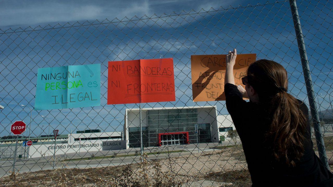 Cartel de la campaña de XEGA.Centro penitenciario de Asturias