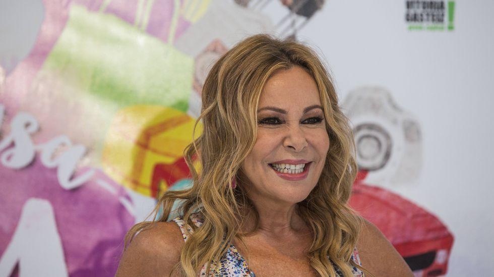 La vuelta a la televisión de Ana Obregón.