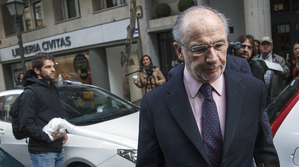La Guardia Civil concluye que Rato intentó beneficiarse con el crédito de Bankia al Valencia CF.La directora general del FMI, Christine Lagarde