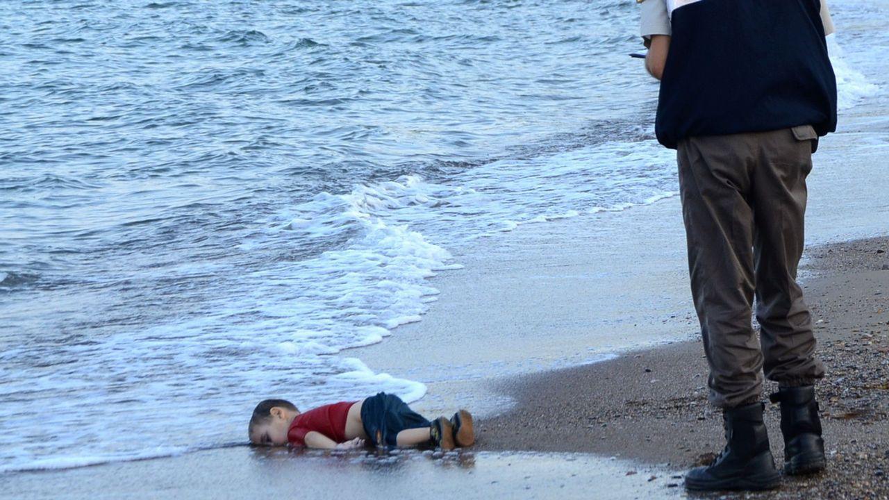 Concentración de refugiados