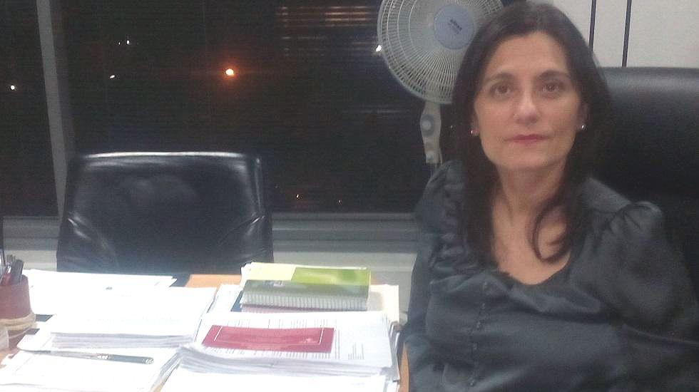 Aeropuerto de Asturias.Yasmina Triguero, alcaldesa de Castrillón
