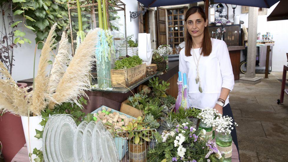 La campaña turística de Asturias para 2017.Silvia Facal, del restaurante A Mundiña, en Pazo do Río