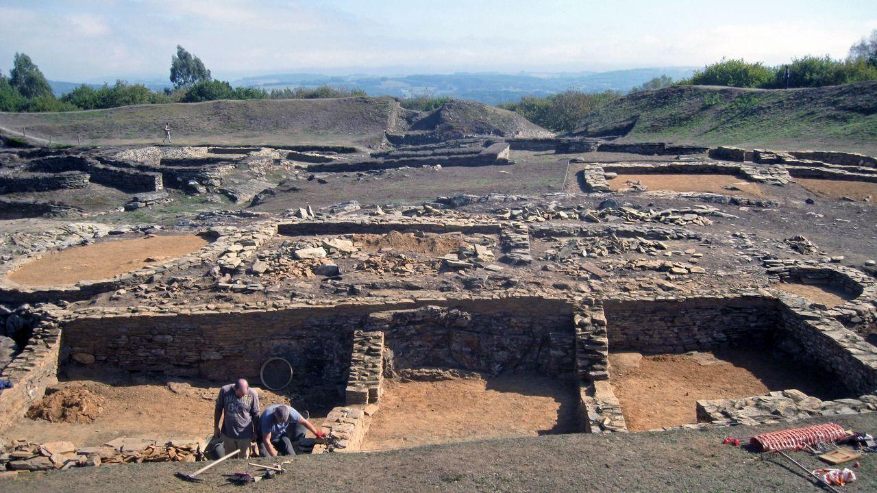 .Excavaciones recientes en el castro de Viladonga