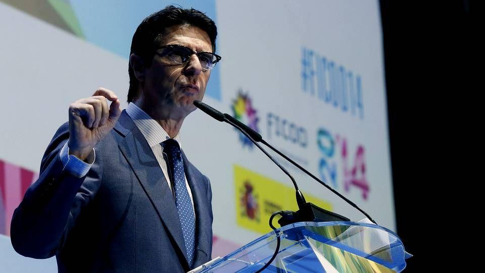La presentación del Samsung Galaxy Gear, en imágenes.El ministro de Industria, Energía y Turismo, José Manuel Soria.