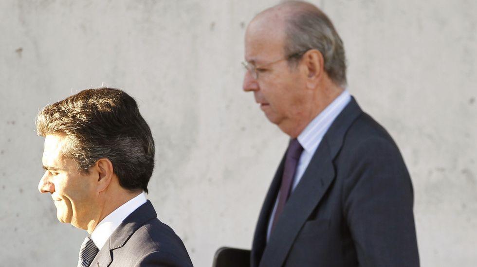 Las ganancias del G6 bancario.Rafael Sporttorno llegando esta mañana a la Audiencia Nacional