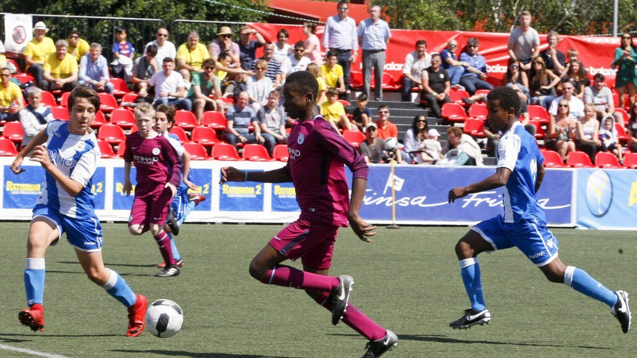 Las imágenes del Arousa Fútbol 7