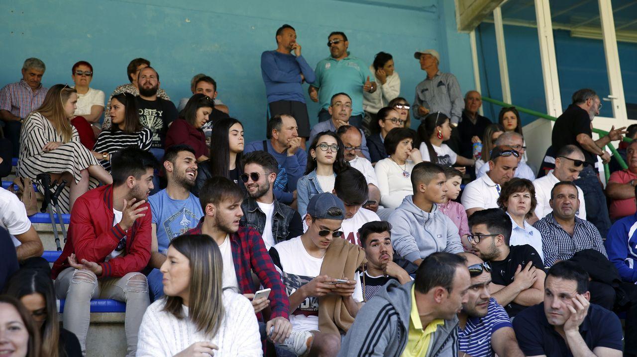 Partido entre Puebla y Carral - Fase de ascenso a Preferente en Barraña