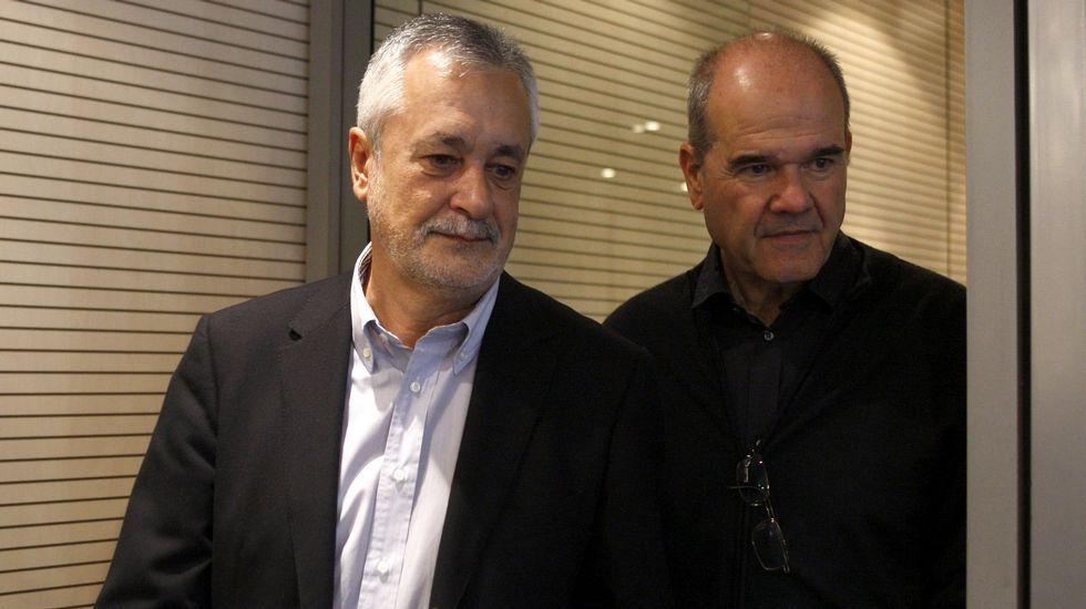 JOsé Antonio Griñán y Manuel Chaves