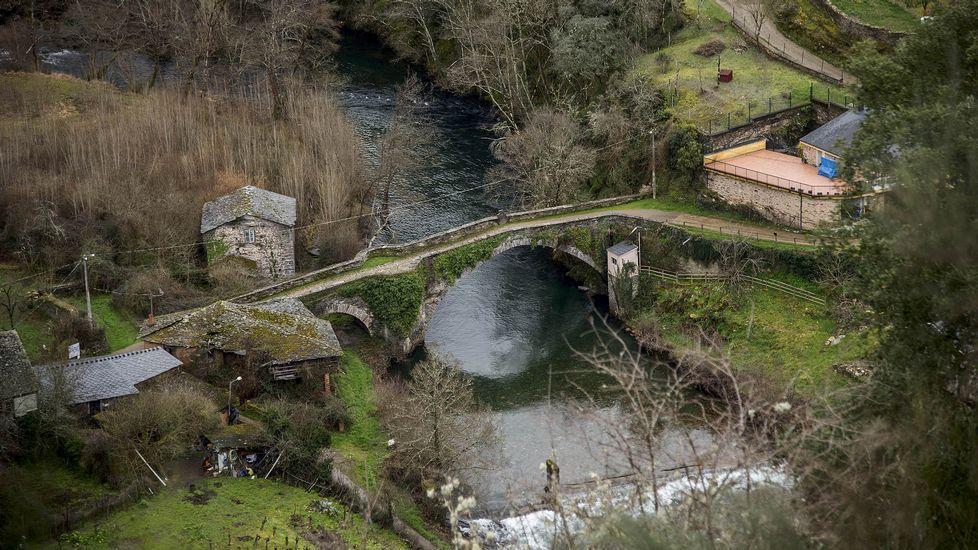 El puente de Barxa de Lor forma parte del trazado del Camino de Invierno