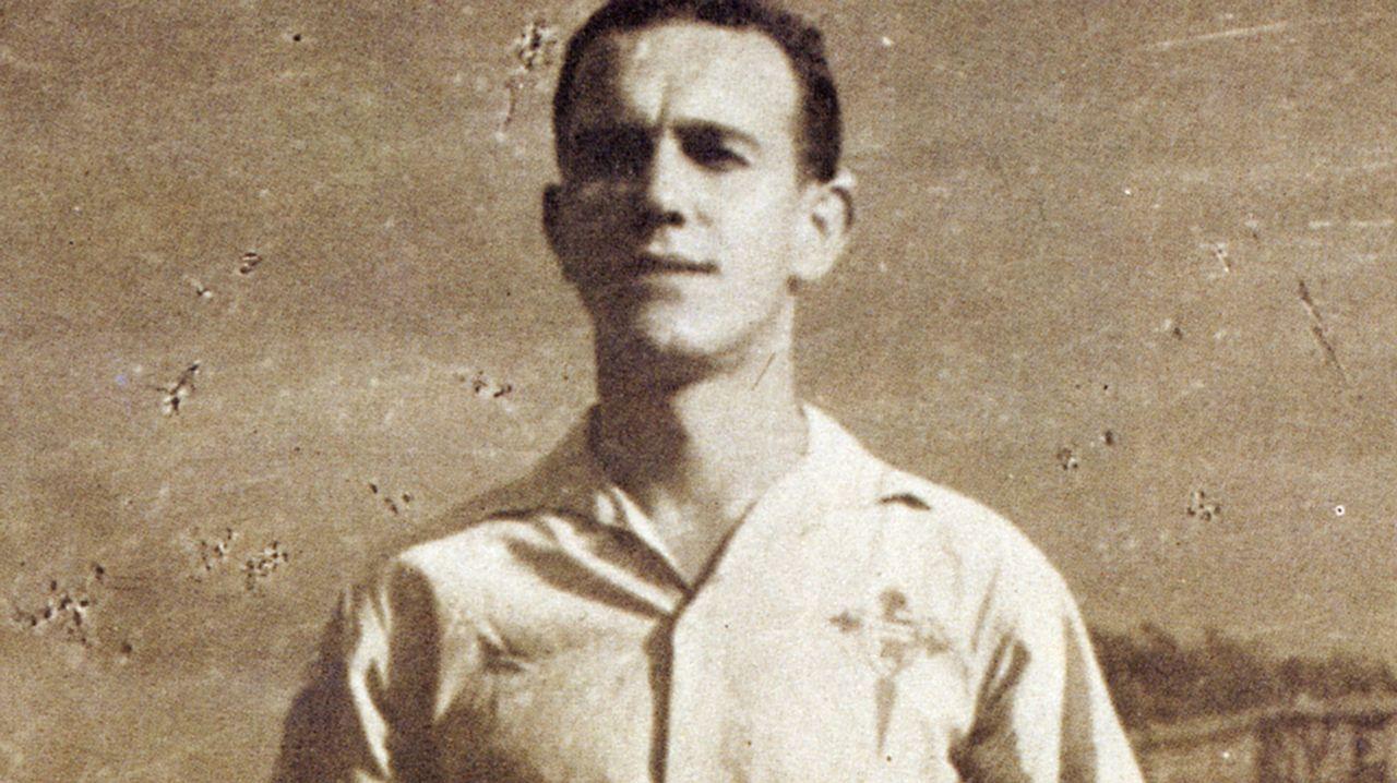 .Villar llegó al Celta procedente del Arosa en 1949 y no se desvinculó hasta su jubilación, en los 90