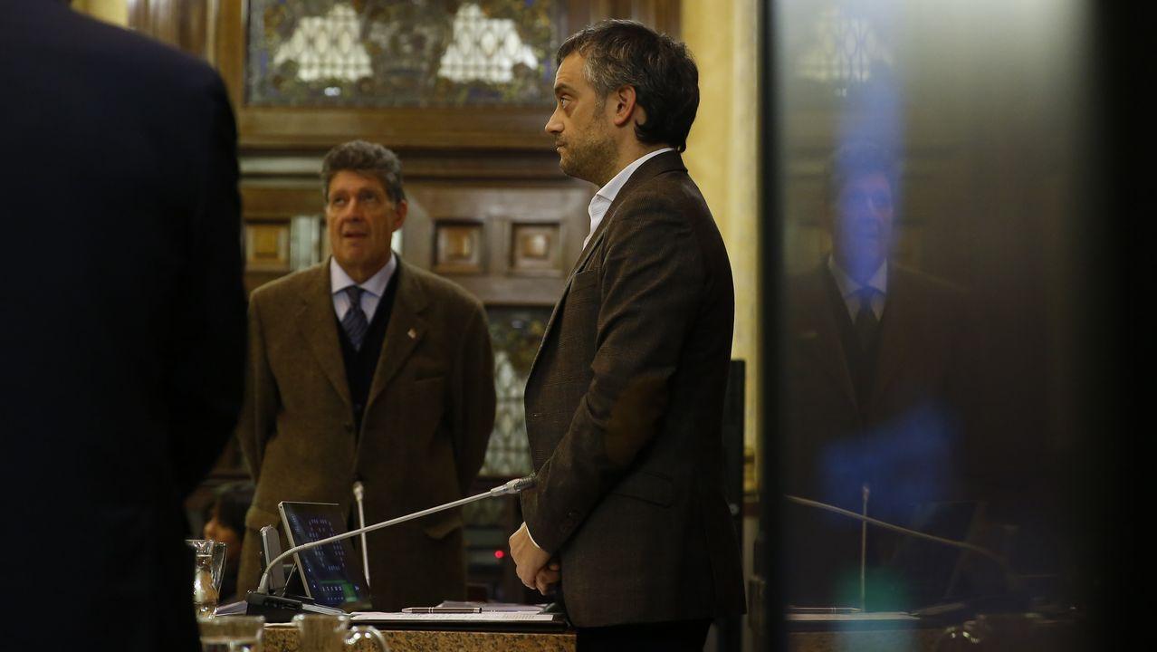 Luís Villares y Xosé Manuel Beiras