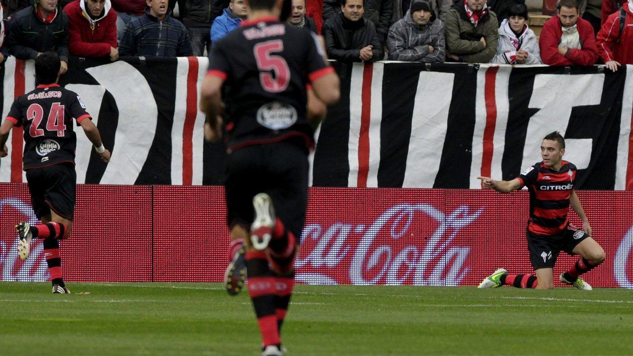 127 - Rayo-Celta (3-2) el 10 de noviembre del 2012