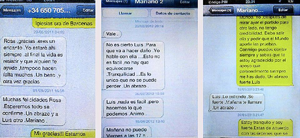 El presidente del Congreso: «Tíralo coño».www.elmundo.es