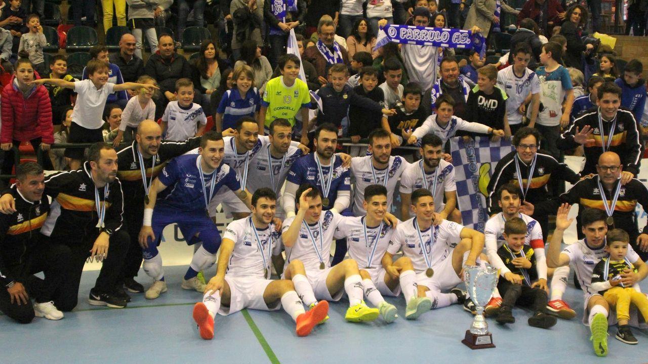 O Parrulo, campeón de la Copa Galicia