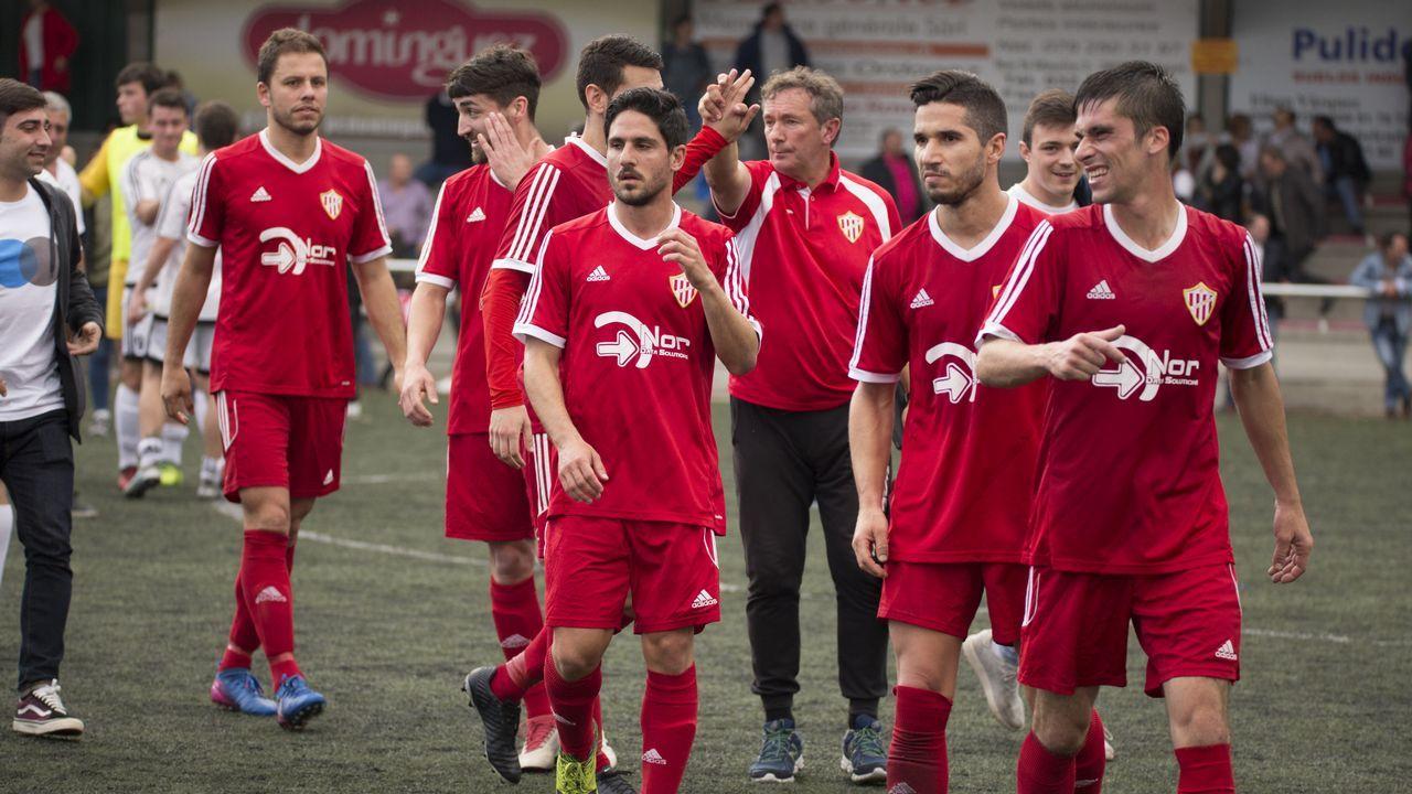 El Sofán y el Xallas, a la final de la Copa da Costa.