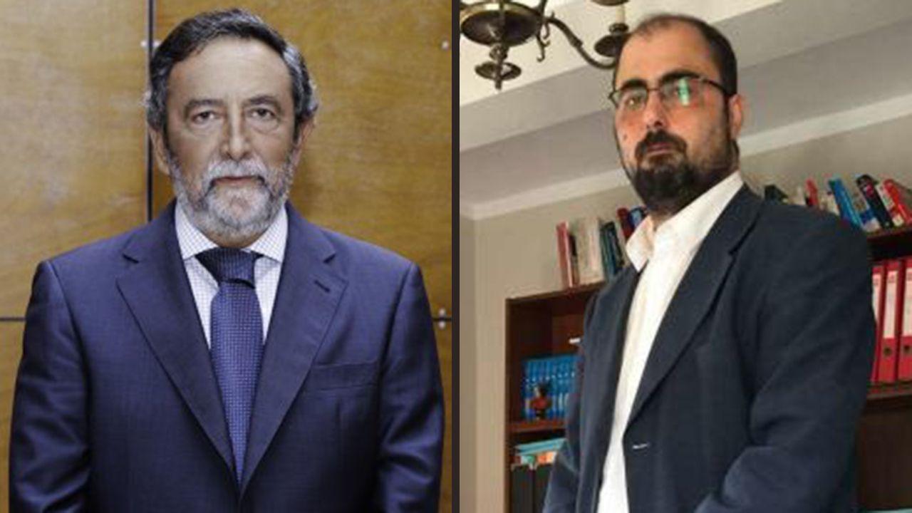 La Cometcon 2018 abre sus puertas en Oviedo. Luis Albo Aguirre y José Enrique Carrero-Blanco , candidatos al Colegio de Abogados de Oviedo
