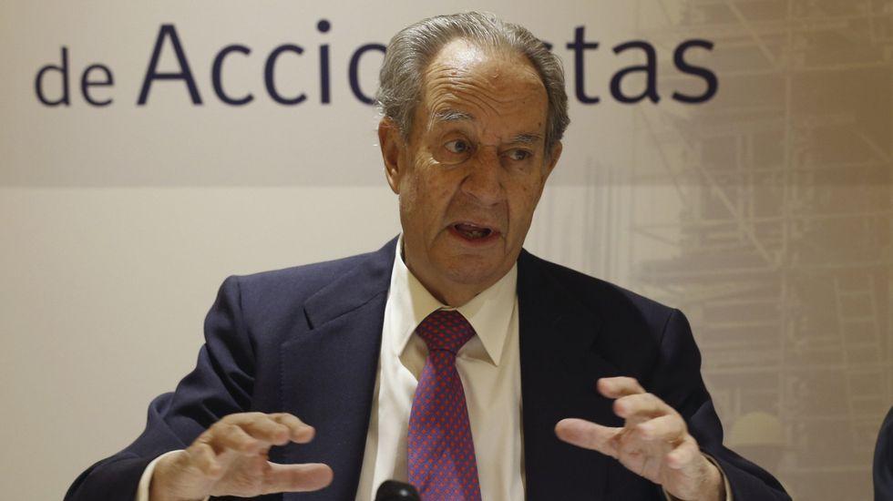 La quinta torre de Madrid se llamará Caleido y abrirá en 2019.El presidente de la constructora OHL, Juan Miguel Villar Mir