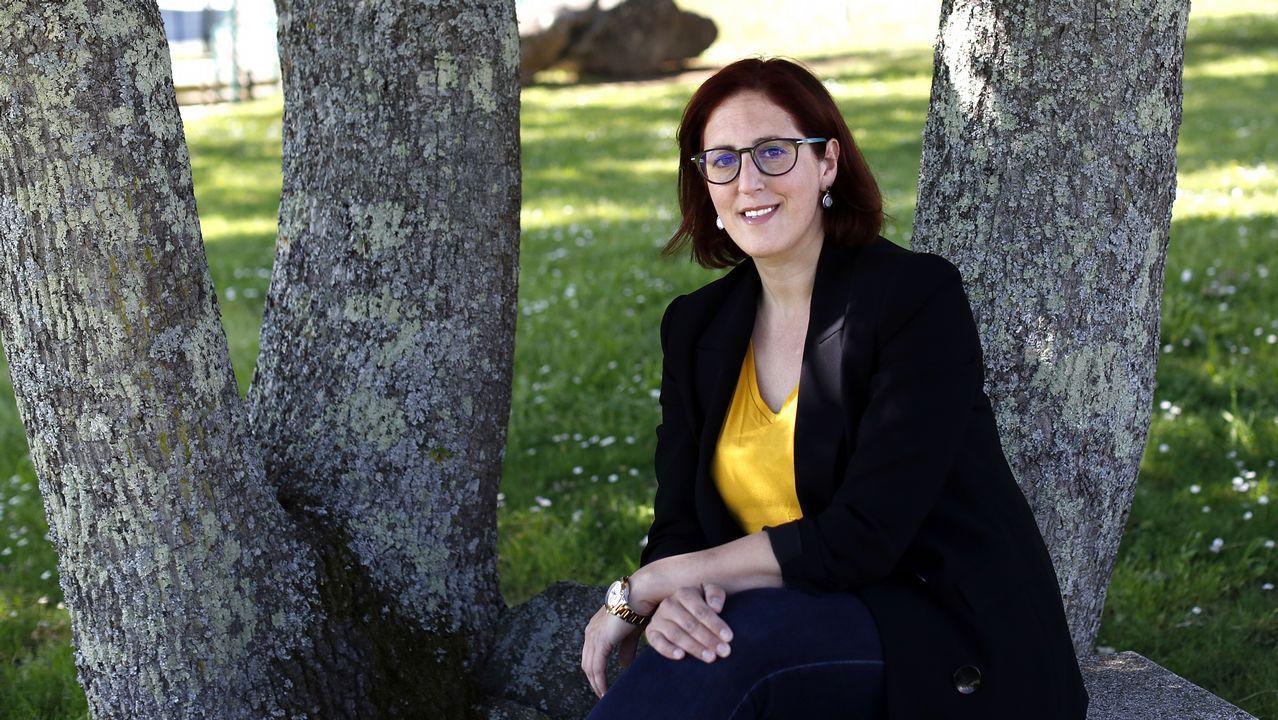 Covadonga Barroso, candidata de Ganemos a la Alcaldía de Avilés