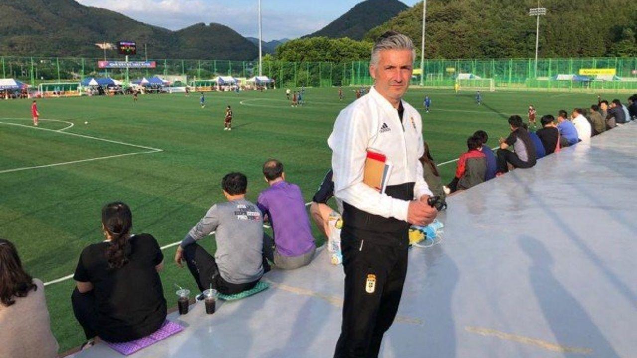 Roberto Suárez en Corea del Sur