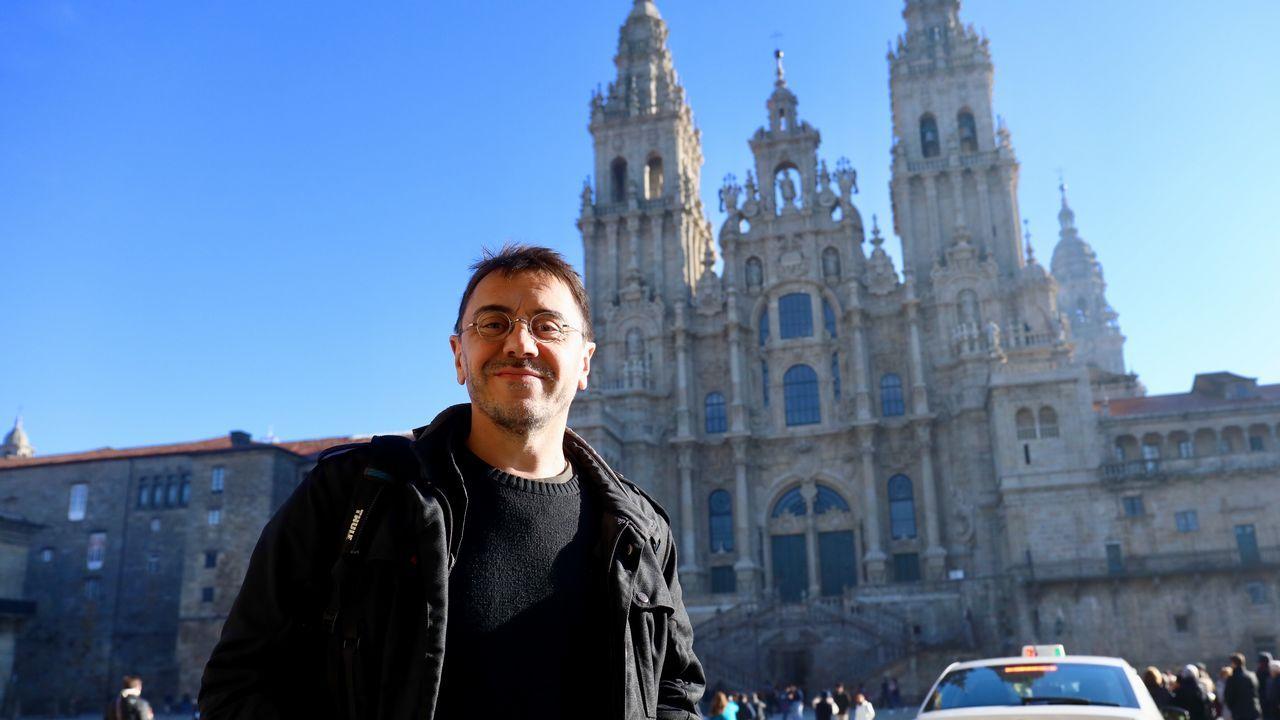 Juan Carlos Monedero en Santiago